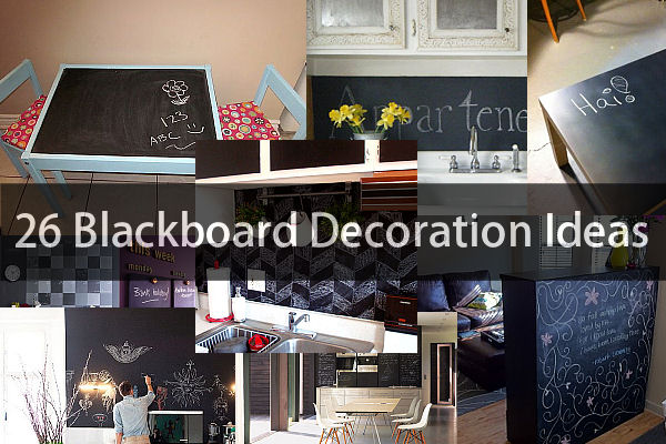 view in gallery - Chalkboard Designs Ideas