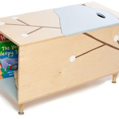 Toy Box With Book Cubby Good Looking