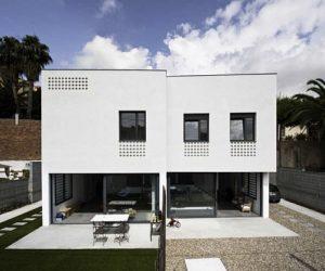 Split House Design in Barcelona
