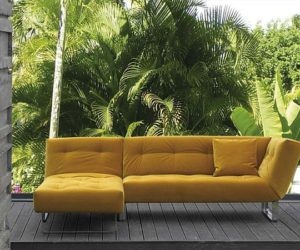 ... Multifunctional Removable Cover Sofa Bed