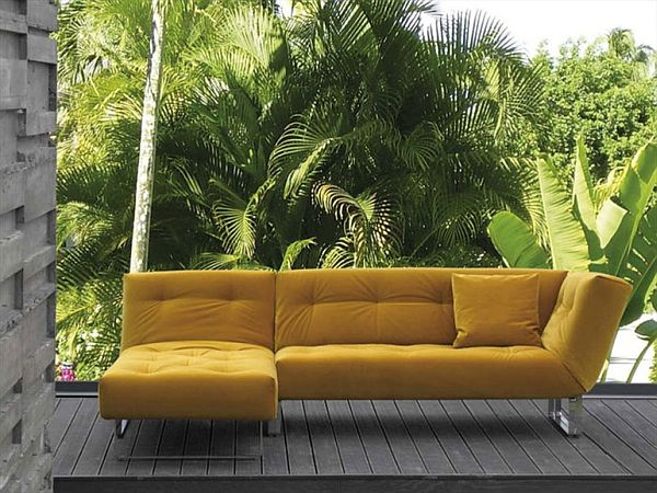 Multifunctional Removable Cover Sofa Bed