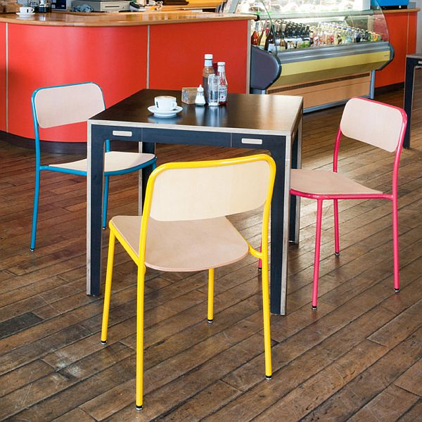 The Colorful And Versatile Verso Chair From Japanese Designer
