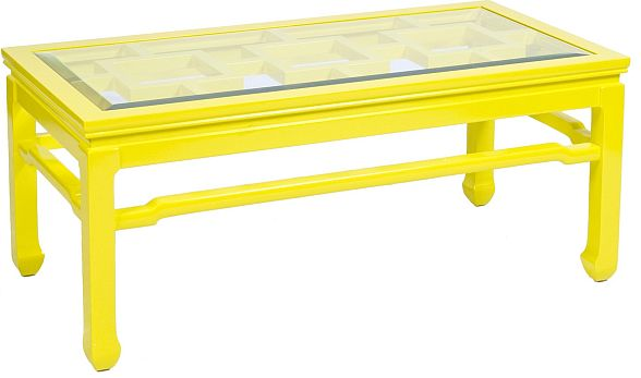 Nice Change Your Room Style With A Yellow Coffee Table