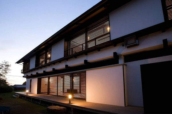 The new japanese house style for Asian architecture house design