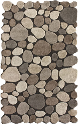Pebbles Cobblestone Natural Rug