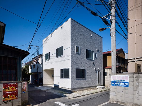 The 3 way compact japanese house