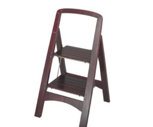 Rockford Series Two-Step Wood Step Stool