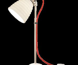 Hector Bibendum Red Cord Table Lamp