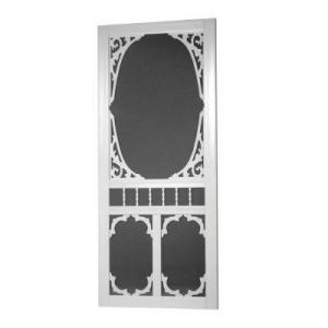 Vinyl White Screen Door
