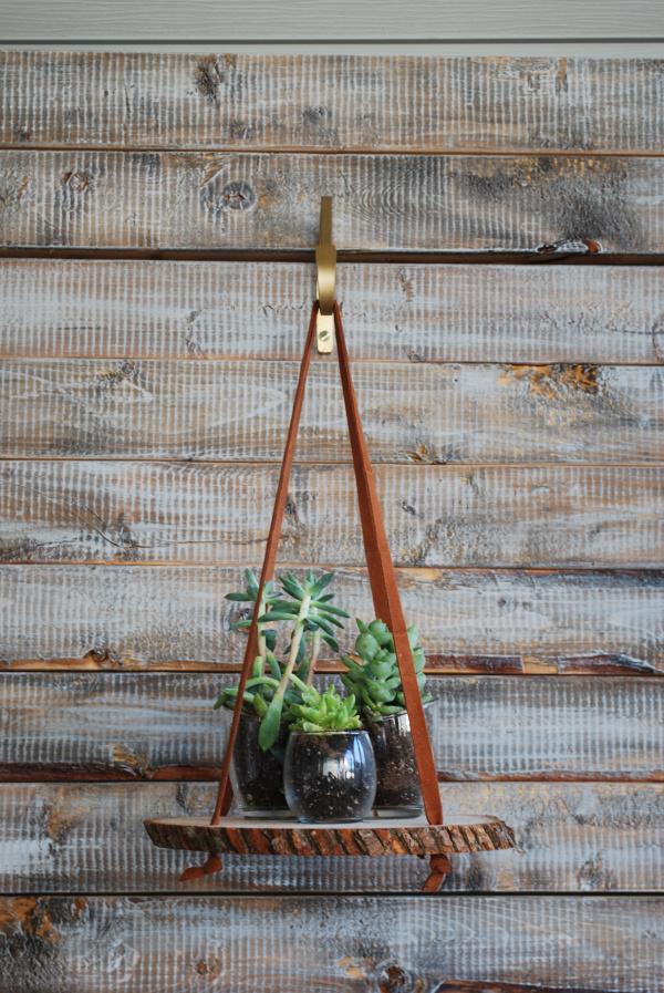 Birch Hanging Plant Stand