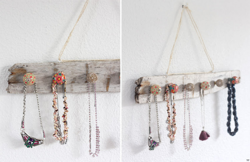 Birch Woodsy Jewelry Holder