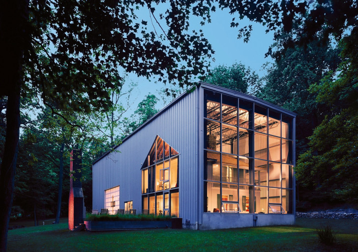 Beautiful Building House From Shipping Containers Concept Of Recycling