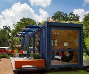 One Crazy Idea Is To Live In A Storage Container Home. Yes, You Heard Me.  Old Cargo Containers Now Serve As A Part Of A Home Or Even The Entire Home  For ...