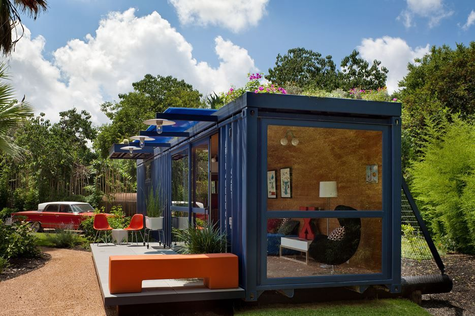 22 most beautiful houses made from shipping containers - Sea container home designs ideas ...