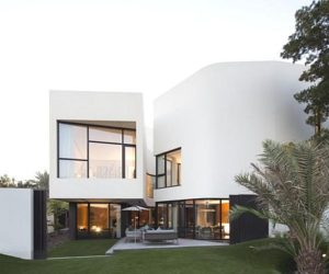 Contemporary Mop House in Kuwait by AGI Architects