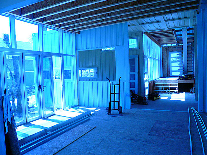 Convert Five Shipping Containers Into a Modern Home Before