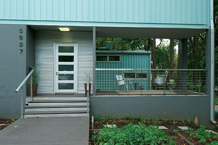 Convert Five Shipping Containers Into a Modern Home