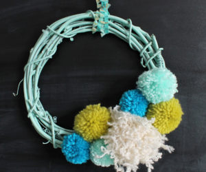 Welcome Spring With A Fresh and Colorful DIY Wreath