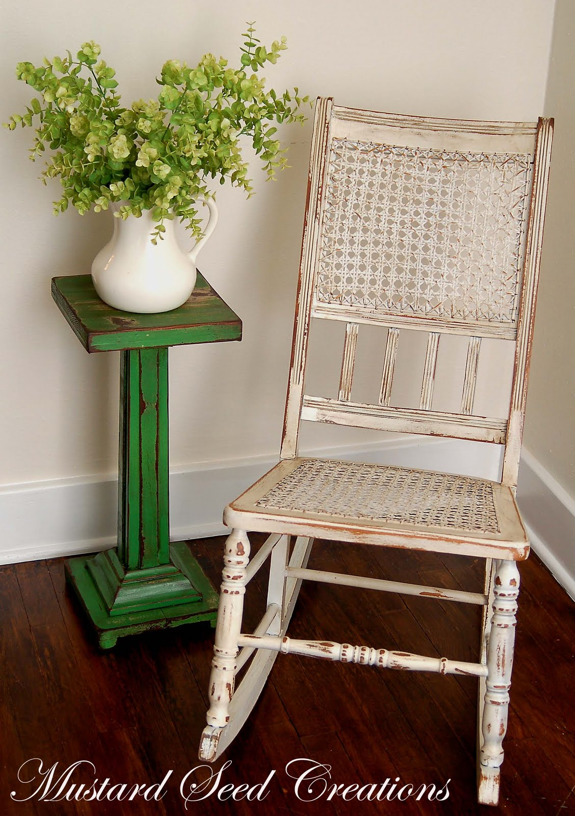 Cool rocking chair makeover