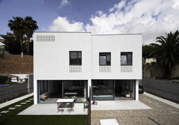 Eco Friendly Semi Detached Houses