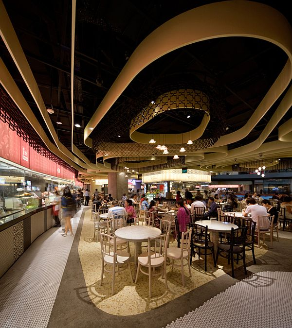 Rasapura masters restaurant interior design in singapore