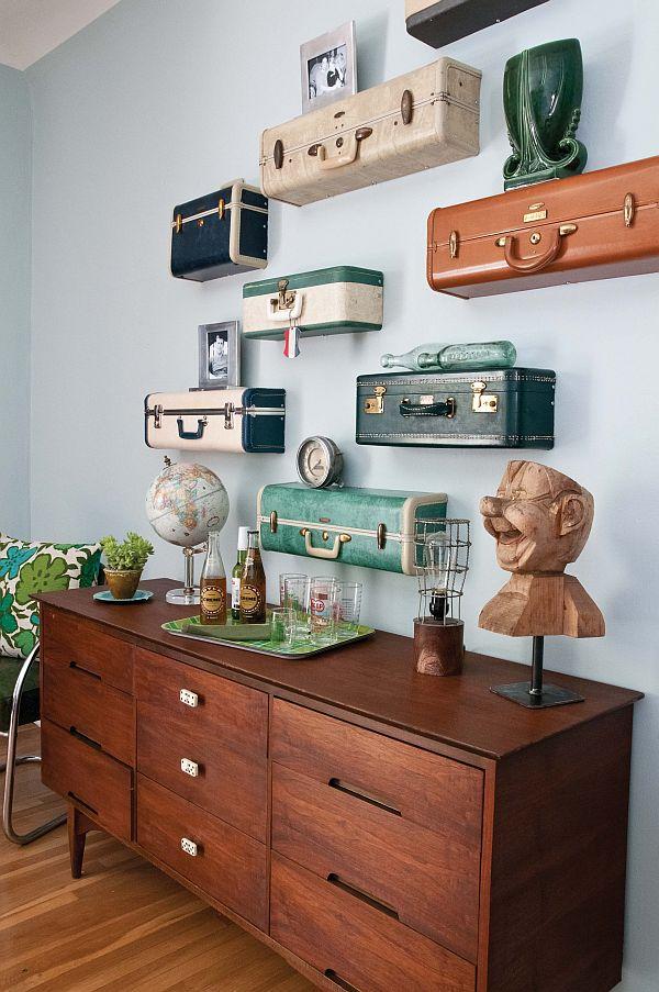 nine ideas for reusing old suitcases idea digezt