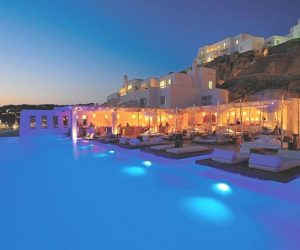 Cavo Tagoo Hotel in Mykonos island of Greece