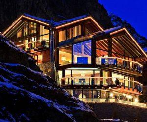The 6 star Chalet Zermatt Peak boutique in Switzerland