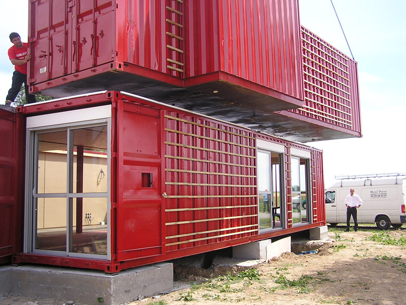 22 most beautiful houses made from shipping containers - Maison container ...