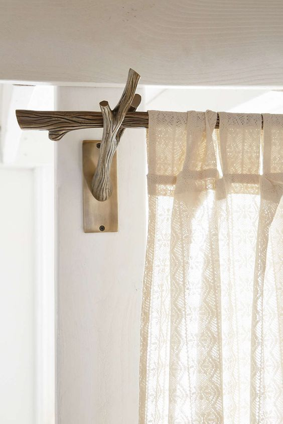 Modern curtain rod that inspire nature