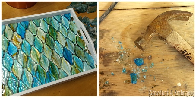 Mosaic DIY Tray