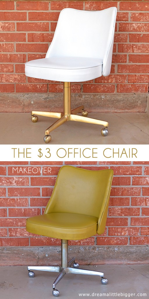 Office chair makeover design