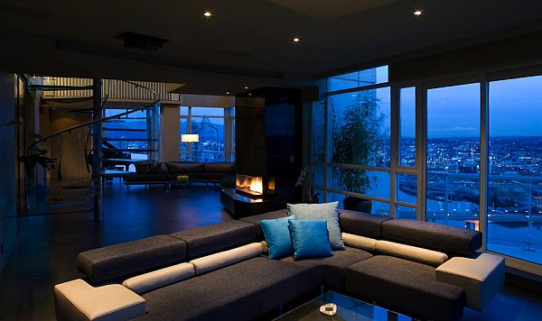 Beautiful ocean view Vancouver penthouse