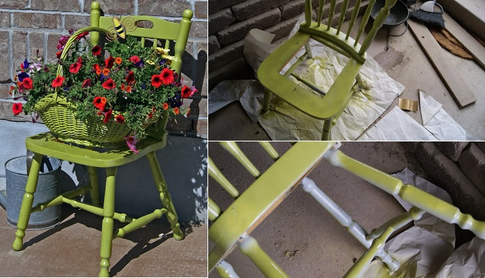 Perfect Garden Project from an old chair