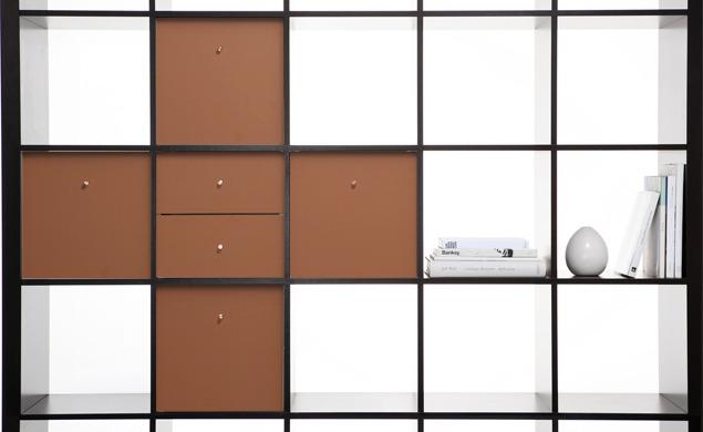 Panyl Expedit Customizes IKEA Bookshelf Design