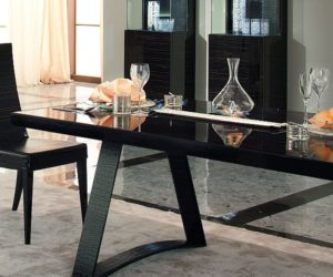 The Nightfly Rectangular Dining Table
