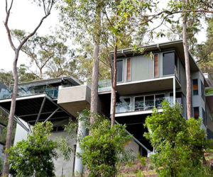 Unusual family residence in Australia