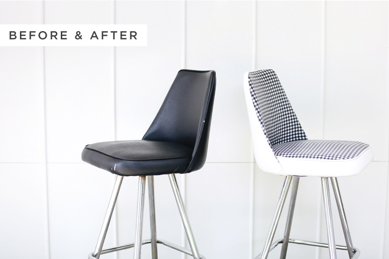 Stool office makeover