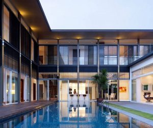 Contemporary Sunset Residence in Singapore