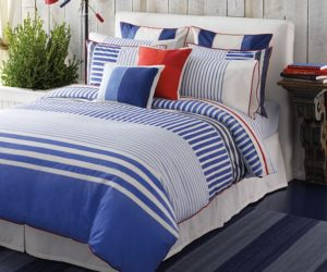 Delightful Floral Cotton Bedding · Maritime Tommy Hilfiger Mariners Cove Bedding Nice Ideas