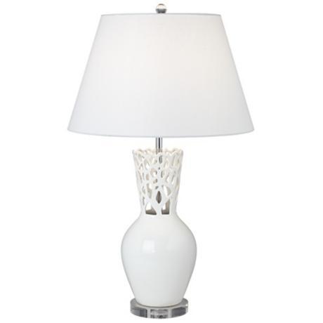 Possini Coral Vase Table Lamp
