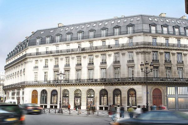 The new w hotel in paris for Hotel design paris 3eme