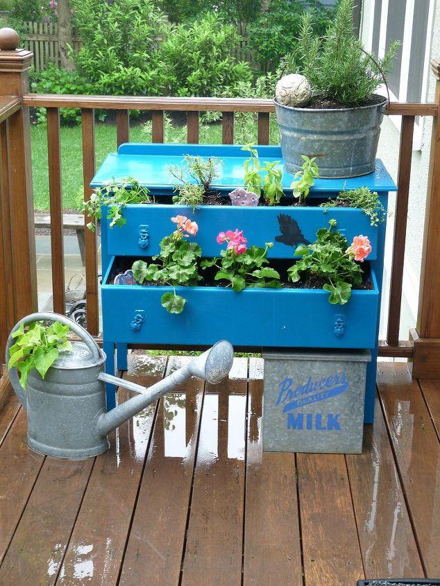 Whimsical dresser planter