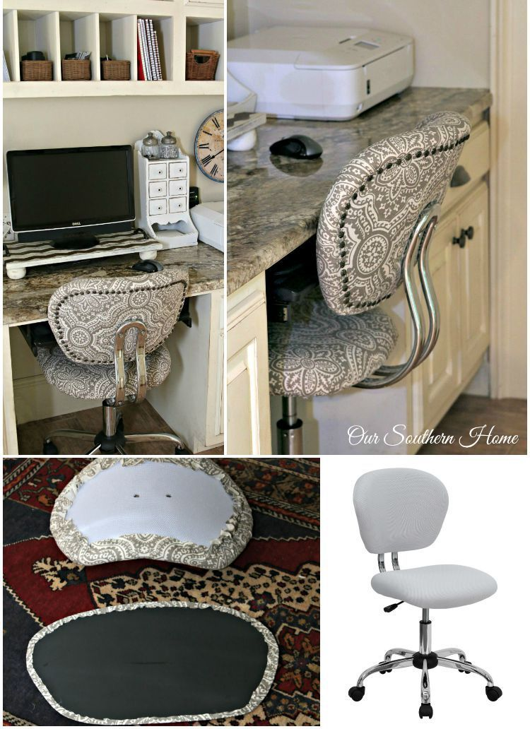 Workspace chair makeover