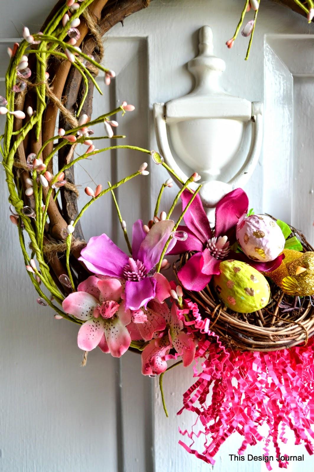 Wreath flower design