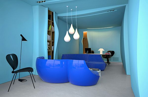 The Blue Azure Office – Ukraine