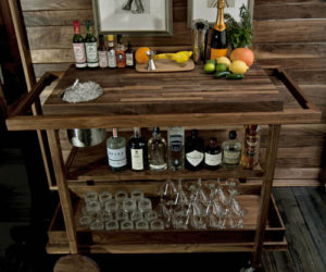 Duo Plus Cocktail Cabinet From EO · Traditional Mobile Bar Cart