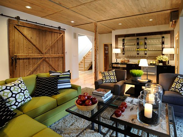 Interior Barn Decorating ways in which you can creatively incorporate barn doors into your home
