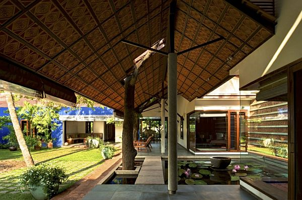 Traditional indian house by khosla associates Arch design indian home plans
