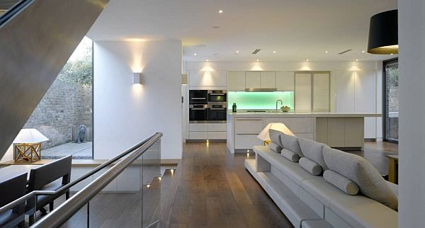 Contemporary Home With Open Plan Living In United Kingdom